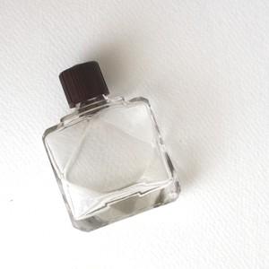 Antique perfume bottle・polyhedron / aa0008