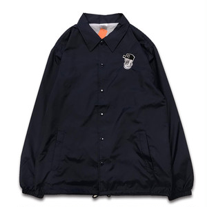 CENTRAL central BOYA coach jacket ネイビー【L size】