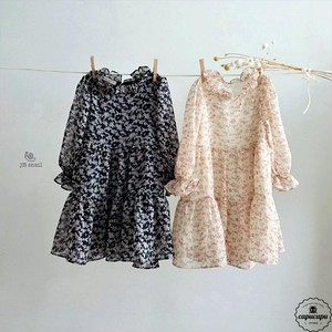 «sold out» Chiffon one piece シフォンワンピース
