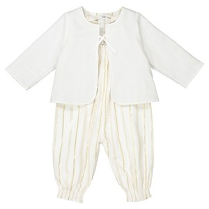 La Redoute White + gold All-In-One and Jacket Set