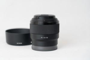 SONY FE 50mm F1.8 単焦点 SEL50F18F ソニー レンズ