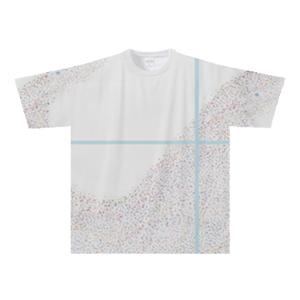 オリジナルTシャツ:たかピー作「Galaxy of Colors」