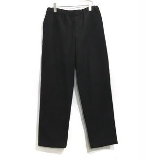 keisuke yoneda wool easy pant Black