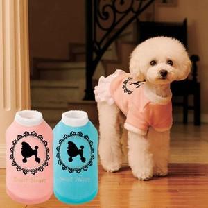 【アウトレット】★かわいい犬服ワンピ/ドレス  SimplersV 秋冬 プードルトップス