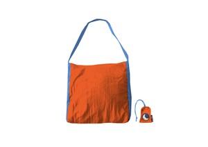 エコマーケットバッグ【カラー】オレンジ×ライトブルー/チケットトゥーザムーン