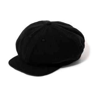 "Just Right ""Sports-Newsboy Cap"" Black"