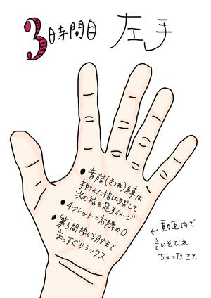 【3時間目】左手