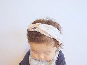 【order made】textile ヘアバンド(baby)