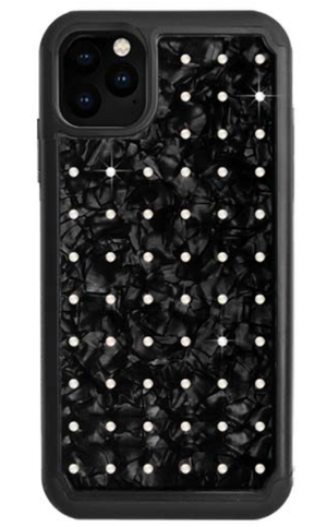 Bling My Thing MINI EXTRAVAGANZA for iPhone11 Pro Max (NEON WHITE×NACRE)