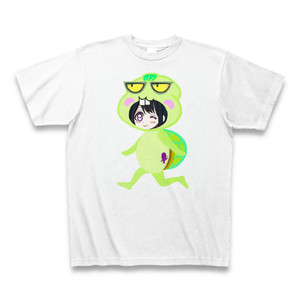 Irieキャラふてガメ姫6サンキューTシャツ