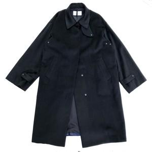 Bench Coat/BLACK/Silk