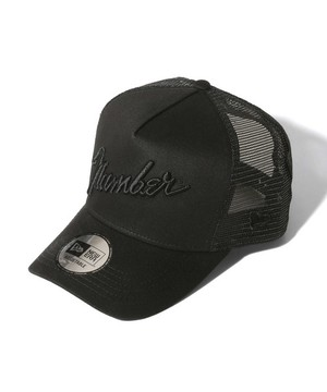 MESH CAP NUMBER (N)INE×NEW ERA_number9(BLK×BLK)