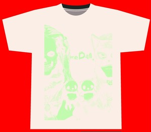 meDag. Tシャツ(限定品 白・蓄光)