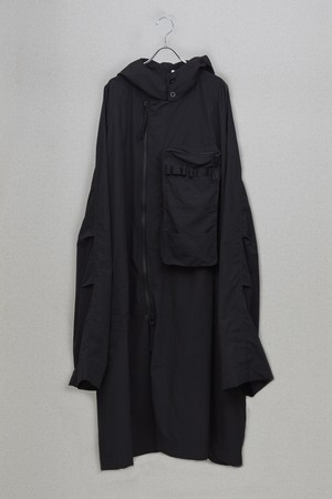 【HUMIS】DEFORMATION MILITARY OVER RAIN COAT