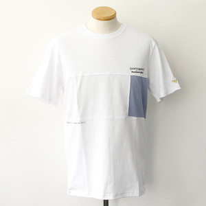 FRONT PANEL SS TEE (WHITE)
