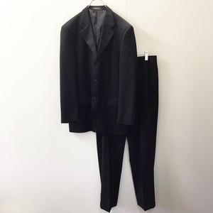 JONES NEW YORK セットアップ スーツ ブラック USA製 メンズ 古着