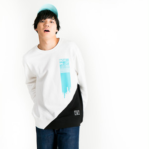 Droppingtag Sweat White