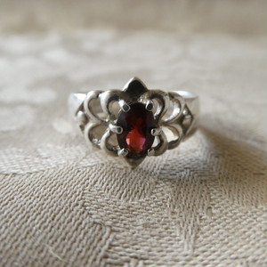 80s vintage silver ring シルバーリング925