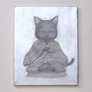 村上 萌「仙台四郎猫(くろねこ)」