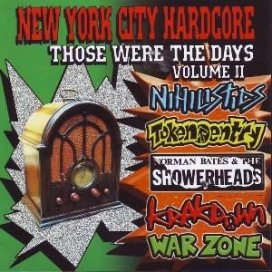 VA/New York City Hardcore - Those Were The Days Volume II CD