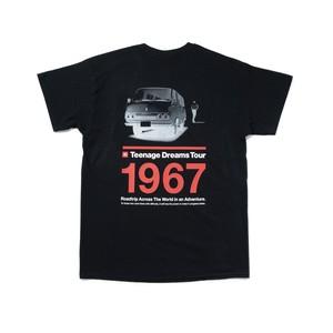 "TOYOTA ""HIACE 1967"" Tee - Black"