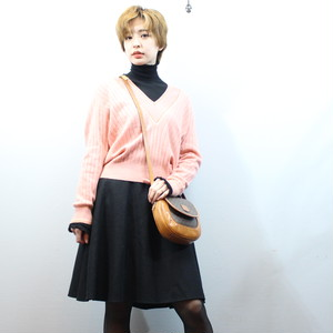 2000000027869 CHANEL 01P COCO MARC CASHMERE100% KNIT MADE IN ITALY/シャネルココマークカシミヤ100%ニット