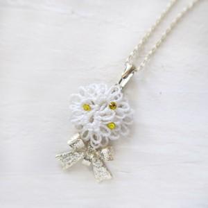 春限定【デイジー/ホワイト】ネックレス