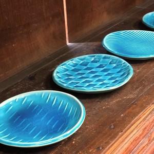 トルコ青釉 小皿