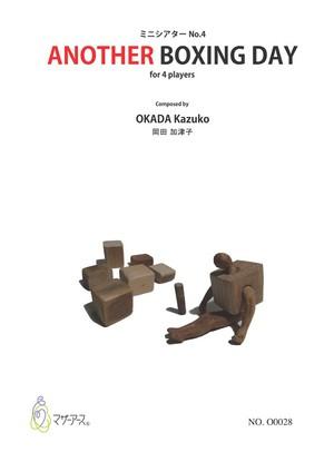 O0028 ANOTHER BOXING DAY(Percussion/K.OKADA/Score)