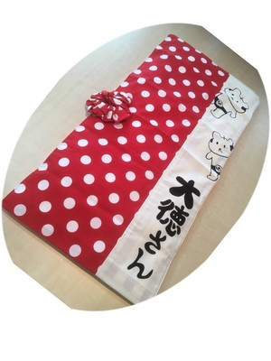 【前略、大徳さん】赤ドット(小) 2