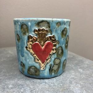 Koyomi Yanagimoto heart pot