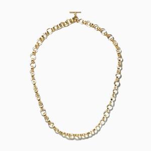 ゴールドリング ネックレス
