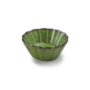 「翠 Sui」しょうゆ皿 花豆鉢 直径6cm うぐいす 美濃焼 288216