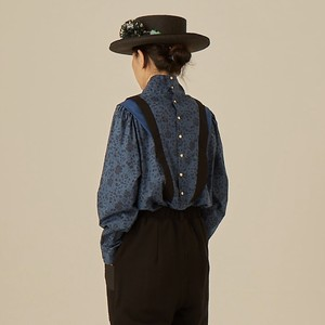 women's wild flower blouse