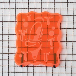 Vinnie Nylon/Neon sign 'Orange'