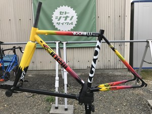 (対面販売)Cinelli VIGORELLI ROAD FRAME SET