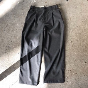 MidiUmi : wool work pants   Color : Gray