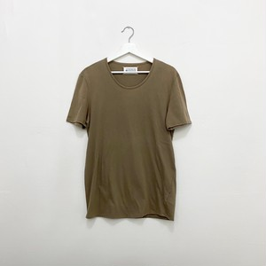 MAISON MARTIN MARGIELA 10 crewneck tee light brown