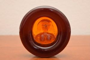ボダエリック・ホグランアッシュトレイ・ペーパーウエイト(女性 オレンジ)【BODA/Erik Hoglund】北欧 食器・雑貨 ヴィンテージ | ALKU
