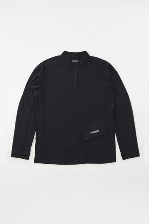 Sato LS Half Zip: Color Black