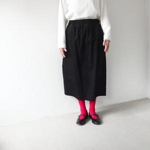 コーデュロイプチドットスカート