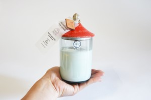 New House Soy Candle(Red-Msize)