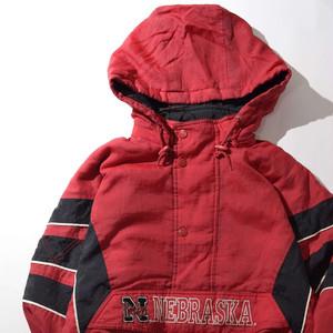 【XLサイズ】STARTER FILLED スターター ANORAK JACKET アノラックジャケット RED レッド 400610190503