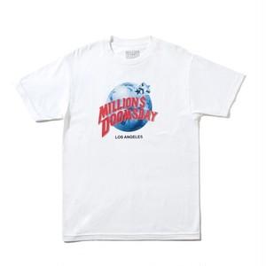 Million Dollar Doomsday -  Planet Doomsday T-Shirt - Black - White