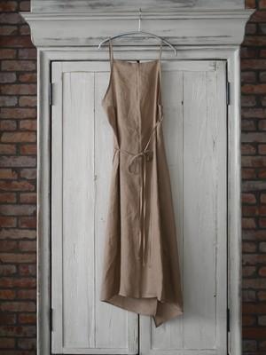 Baserange /  YUMI APRON DRESS  ( KHATA BROWN  )