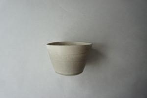 眞砂眞砂子 フリーカップ 小鉢 ホワイトグレー