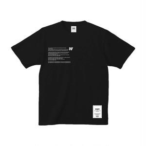U2W TEE [BLACK]