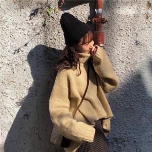 カラータートルネックセーター1011-201217034