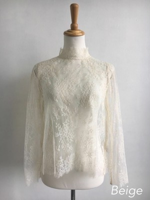 Bilitis dix-sept ans (ビリティス・ディセッタン) Leaver Lace Blouse