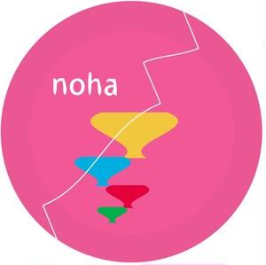 缶バッヂ(noha)
